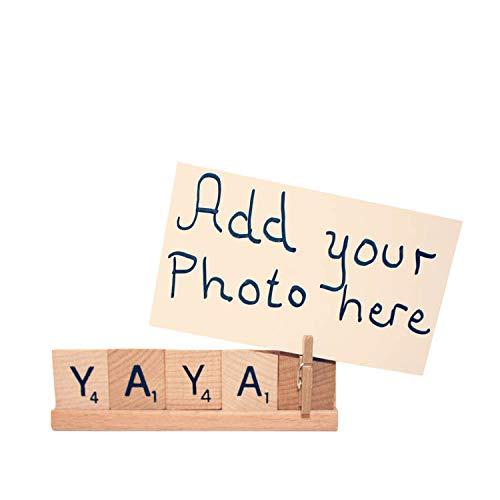 Yaya Gift Personalized Frame Photo Gigi Custom Detroit Mall Ranking TOP2 Mo