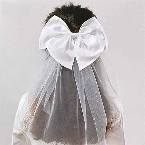 Tocados de Novia Vestido de boda de tul de novia Señoras velo...