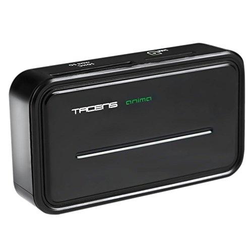 Tacens Anima ACRM2- Lector de tarjeta multiple (rápido y ligero, USB 2.0, 6 slots) color negro