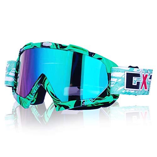 Gafas de motocross, Motocicleta Anti viento Polvo UV Dirt Bike Racing Riding...