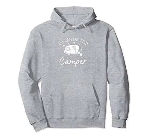 NA Sweat à Capuche pour Homme Adulte Queen of The Camper RV Camper Road Trip