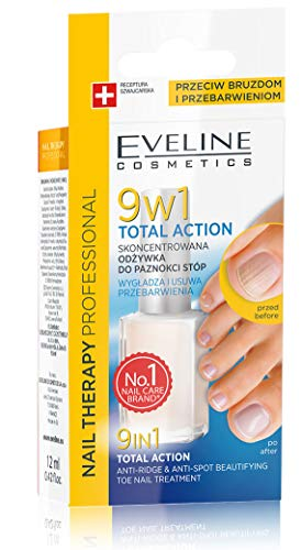 Eveline Fuß Nagel Therapie 9in1Total Action Konzentrat Nail Treatment 12ml