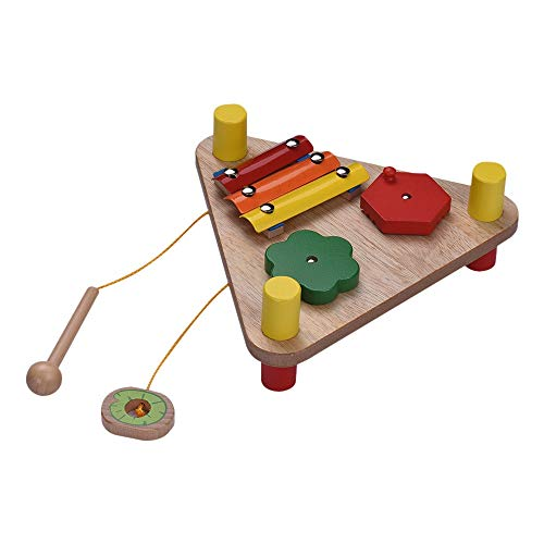 yitao Instrument de Jouet Multifunctional Wood Percussion Toy Musical Gift for Kids Kids Multifunctional Wood Percussion Toy Musical Gift for Kids