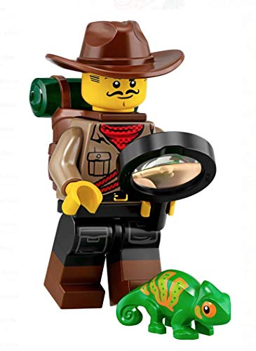 Mini Figur Lego Serie 19 71025 #7 Wild Life Explorer