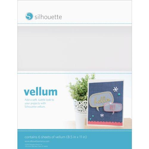 Silhouette America GT1902013 Vellum Papier, 6 Blatt