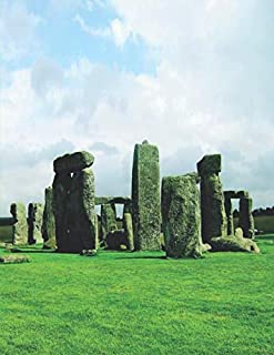 """Notebook: Stonehenge Gifts Prehistoric Monument in Wiltshire, England 