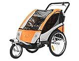 Fixi Master Multifunktion 2en 1Chariot Remorque de vélo/jogger Baby Jogger Chariot Orange bt504s neuf