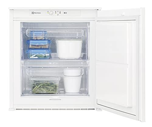 Electrolux EUB2AF60S - Congelador vertical, altura 60 cm, blanco