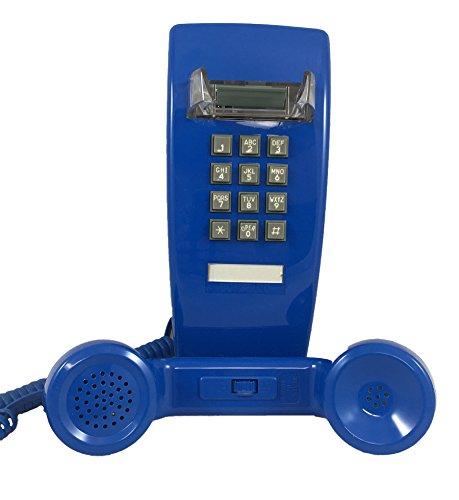 Blue 2554 Wall Telephone