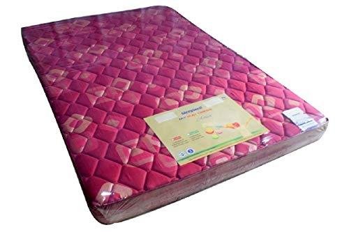 Sleepwell Activa Firmtec Mattress (72 x 48 x 4 inches,Marron)