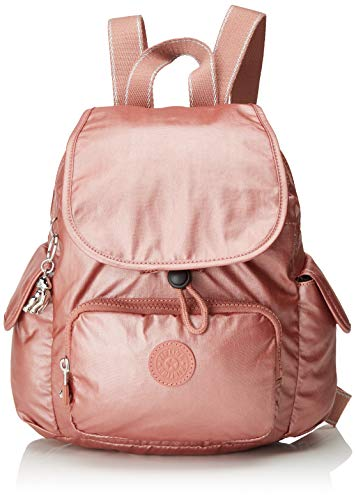 Kipling Damen City Pack Mini Rucksack Rot (Metallic Rust)