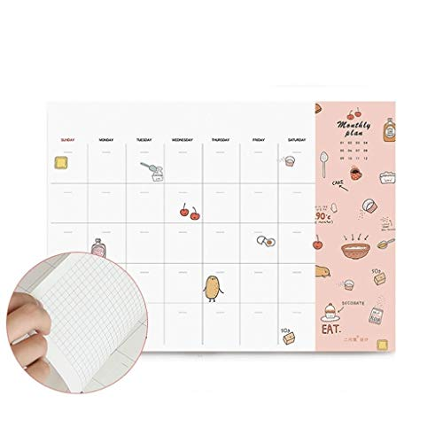 YHYH computadora portátil Agenda orientada hacia la Meta Diaria, Plan de Combinación 5,9'x2.7 Libro de Planes de Clases y Grados Combina, Secundaria o preparatoria Plan de Cuaderno de Escritorio
