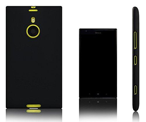 Xcessor Vapour Funda Carcasa de TPU Gel Flexible para Nokia Lumia 1520 (Compatible con Todos Los Modelos Nokia Lumia 1520). Negro