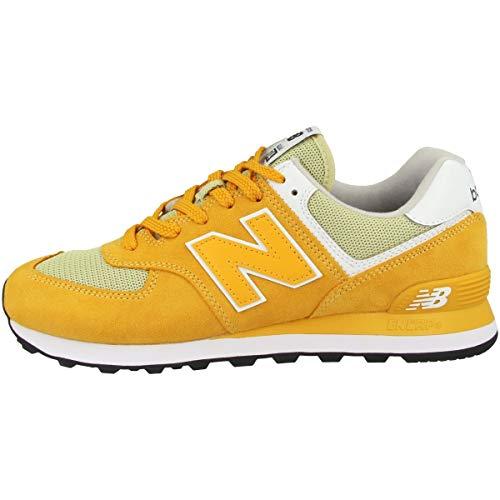 New Balance KL574 Low-Top für Mädchen, Gelb - gelb - Größe: 40.5 EU