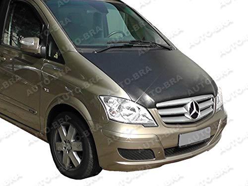 AUTO-BRA AB-00275 Vollbra Bonnet BRA für die ganze Motorhaube des Vito Viano W639 2003-2014 Haubenbra Steinschlagschutz Tuning Bonnet Bra