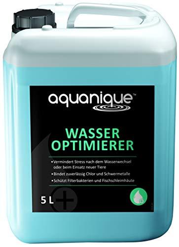 AQUANIQUE wateroptimierer 5 L, wateraufbereiter Aquarium, voor 20.000 Liter