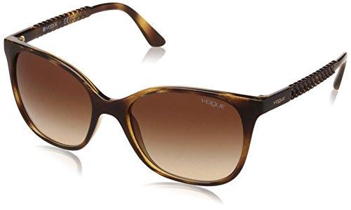 Vogue Eyewear 0VO5032S W65613 54 Occhiali da Sole, Marrone (Dark Havana/Browngradient), Donna