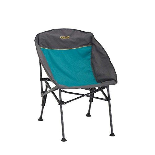 Uquip Comfy - Sedia da Campeggio Pieghevole - Azul/Grigio