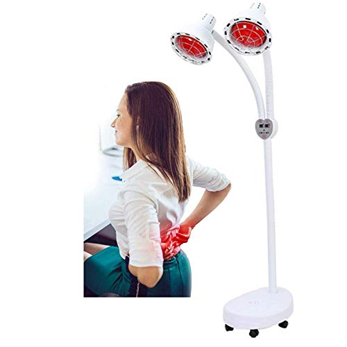 Amazing Deal SCYTSD Infrared Heat Lamp,Mineral Therapy for Body Muscle Joint Pain Relief with Improv...