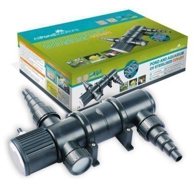 All Pond Solutions UV Light Steriliser Clarifier Filter, 11 W