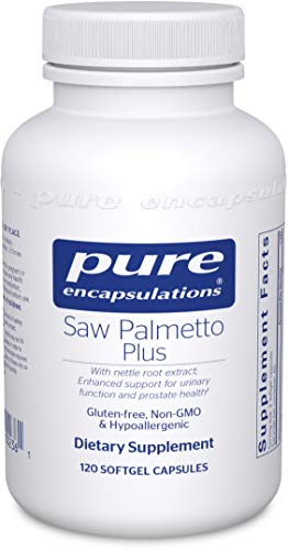 Pure Encapsulations - Saw Palmetto Plus with Nettle Root Extract - Hypoallergenic Supplement with...