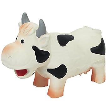 Rosewood Jouet pour Chien Grunters Vache en Latex