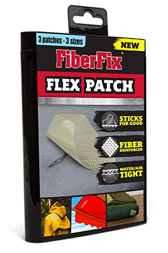 FiberFix Flex Patch - 3 Patch Set - 3 Sizes