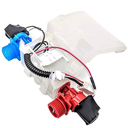 Price comparison product image Washer Water Inlet Valve WPW10140917 PS11749042 W10144820 Replacement For Kenmore Whirlpool 1CWTW5200VQ1,  Whirlpool 1CWTW5300VW1,  Whirlpool 1CWTW5505VQ1 7MWT98960WM1,  kenmore 500 110.29422801 Etc