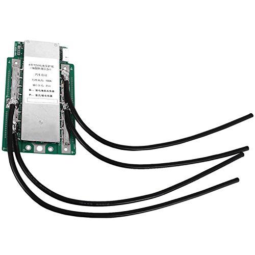 CUHAWUDBA 4 S 3,2 V Lifepo4 Lithium Eisen Phosphat Schutz Board 12,8 V Hoch Strom Wechselrichter BMS Pcm Motorrad Auto Start (100A)
