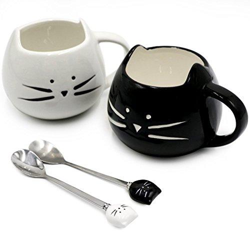 Cute Cat Mug Ceramic Coffee Mugs