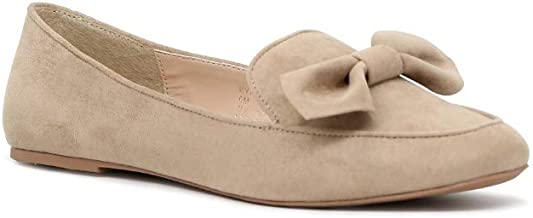 Front Bow Loafers