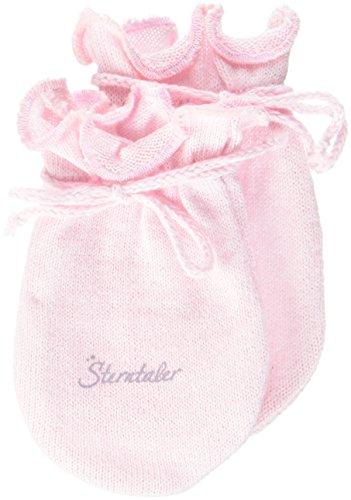 Sterntaler Kratzfäustel Jersey für Babys, Alter: 0-6 Monate, Größe: 0, Rosa