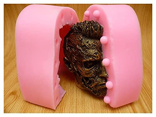 Agnus Stampo del Silicone della Muffa del Silicone della Muffa del Torta della Testa della Testa 3D della Muffa della Candela della Candela del Cioccolato