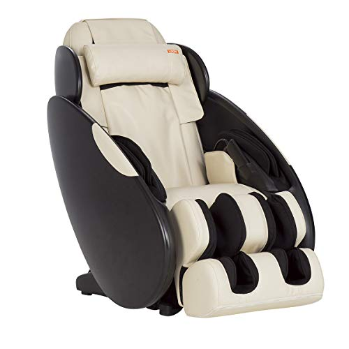 Human Touch iJOY Total Massage FlexGlide Recliner Chair, Black with Adjustable Height, 3 Auto-Programmed Massages & Targeted Air Cells for Foot, Calf, Shoulder, Back, Full-Body Relief, Bone
