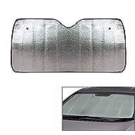 Ramanta Car Sunshade Solar Reflective Car Front Windshield Foldable Sunshade for Hyundai Elite i20 - Keeps Vehicle Cool - Jumbo Sun Shades Block UV Rays