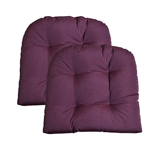purple outdoor seat cushions - 5