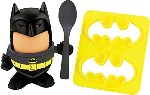 Batman Eierbecher für Kinder, Geschenke für Jungen, Kinderfrühstückset, DC-Ware
