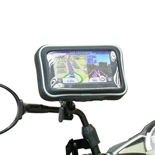 Wasserdichte Motorrad Spiegel Halterung für Garmin Nuvi 2519 2519LM ( Sku 31132 )