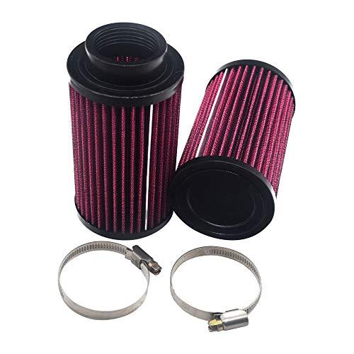 2 Packs 26mm Air Pod Filters RU-0210 Compatible With Yamaha Banshee 350 YFZ350