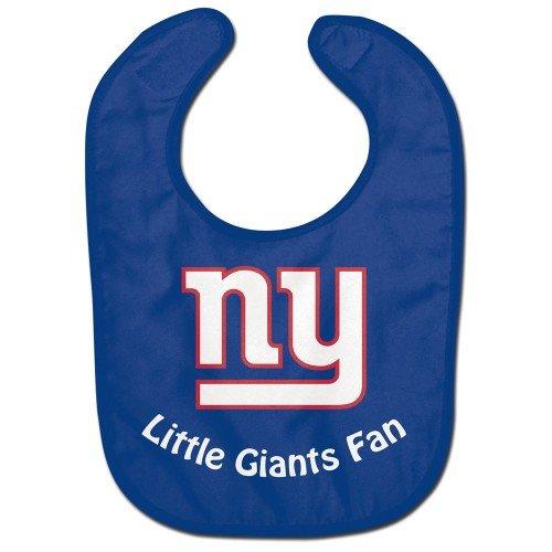 NFL Football Full Color Mesh Baby Bibs (New York Giants All Pro)