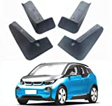 Mud Flaps coche Guardabarros Auto Fender for BMW I3 eléctricos guardabarros guardabarros Faldón i3 Protección contra salpicaduras Defensas Guardabarros bengalas Fender coche for BMW i3 coche eléctrico