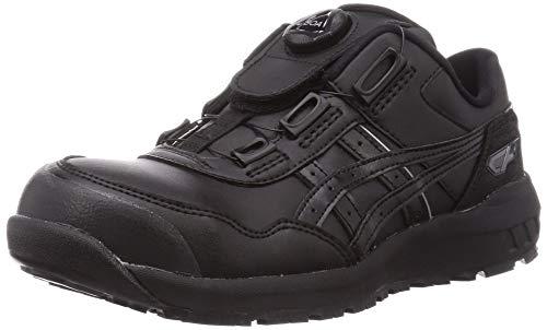 [アシックス] ワーキング 安全靴/作業靴 ウィンジョブ CP306 Boa JSAA A種先芯 耐滑ソール fuzeGEL搭載 ブラック/ブラック 26.5 cm