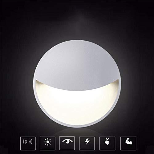 Kleurrijke LED Nachtlampje met Verlichting Controle Sensor Wandlamp Mini Plug Nachtlampje Kinderen s Creatieve Gift Home Decor@Warm Wit