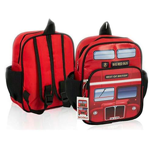 Londen Bus Kids School Bag Beste van de Britse Rugzak Rugzak Water Bewijs Kids Souvenir Gift