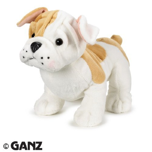 Webkinz Bulldog Puppy with Trading Cards