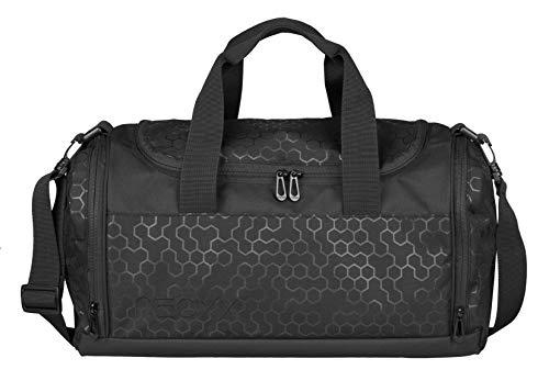 neoxx Champ Sporttasche Lost in Black I Sportbeutel für die Schule I Tasche zur Aufbewahrung von Sportklamotten, Schuhe etc.
