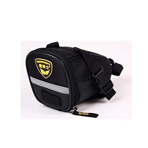 Great Deal! Waterproof Cycling Seat Bag – Bicycle Strap-On Bike Saddle Bag Bicycle Bag, 3D Shell Bike Saddle