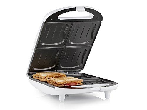 Tristar SA-3065 Sandwich Maker – 4 Sandwiches gleichzeitig – Antihaftbeschichtung
