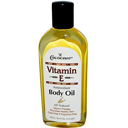 Cococare Vitamin-E Antioxidant Body Oil 8.5 Ounce (250ml) (6 Pack)