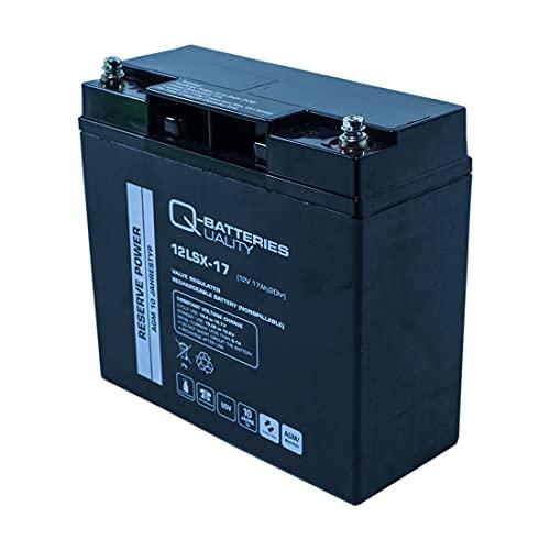 Q-17 non-tissé de batterie au plomb 12 V 17 Ah/Batteries 12lsx AGM 10 ans
